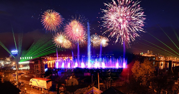 Тур по Украине: В гости к Винницкому фонтану, и не только