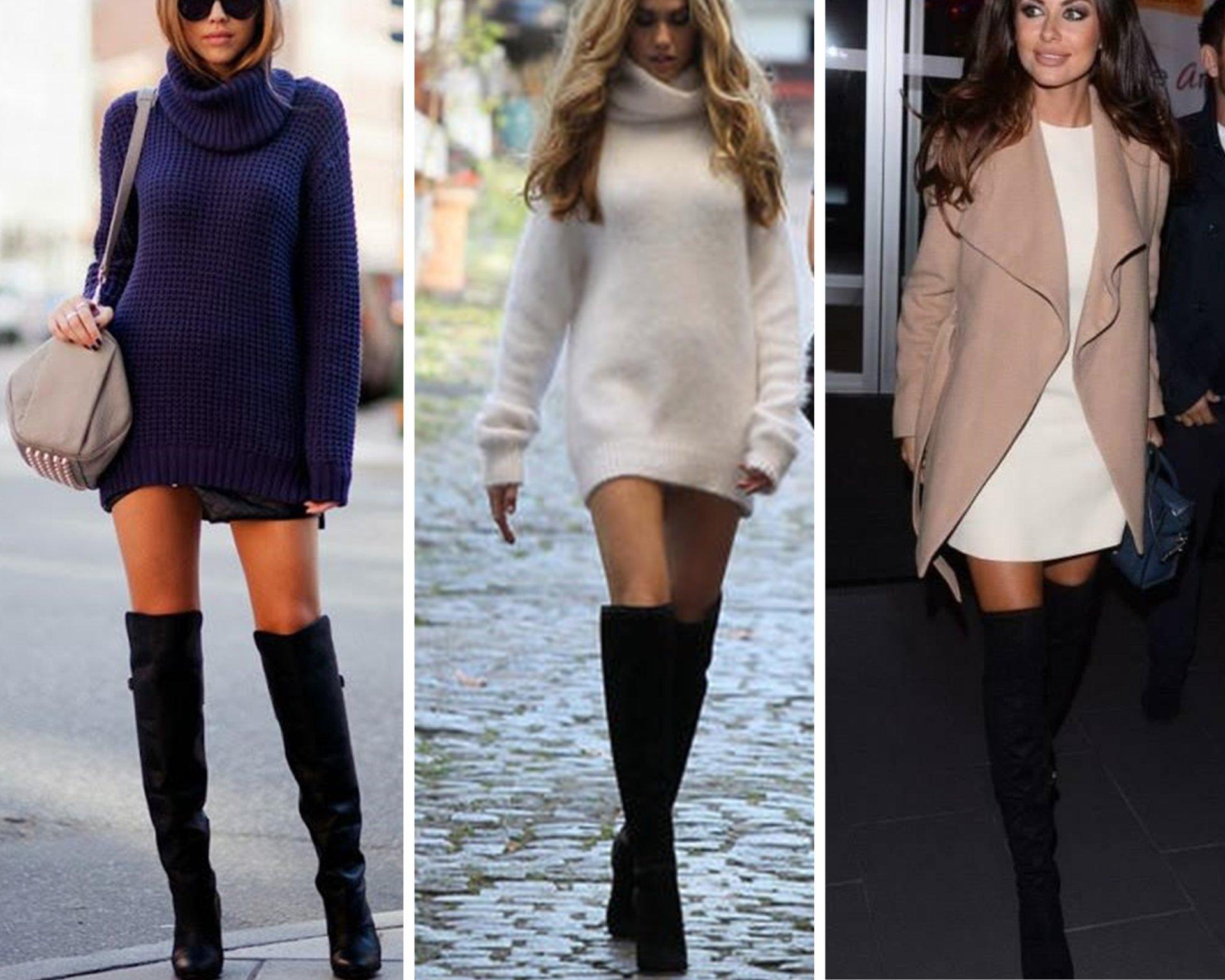 Виды женских сапожек, подбираем обувь на осень