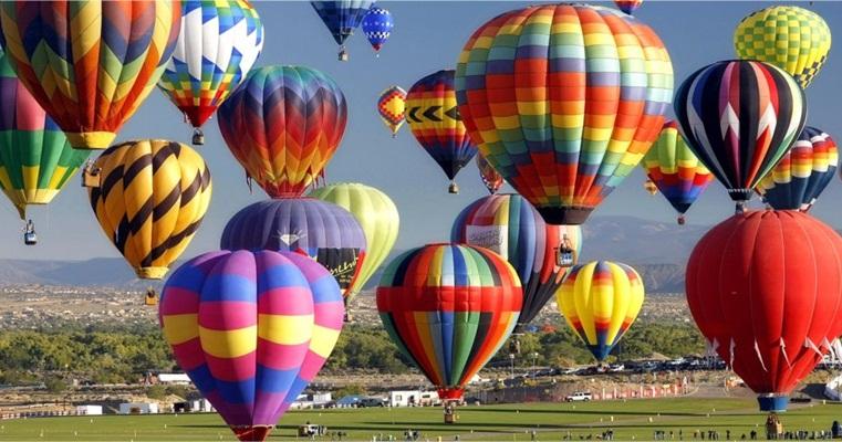 Фестиваль воздушных шаров в Переяславе-Хмельницком