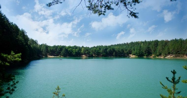 Тур по Украине: Голубые озера и природный парк