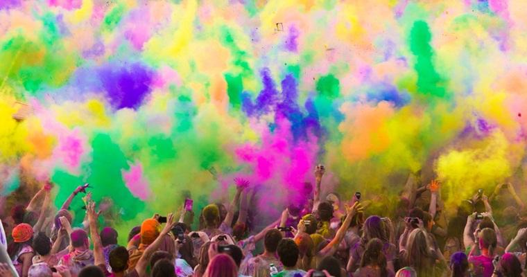 Всеукраинский Фестиваль красок Холи