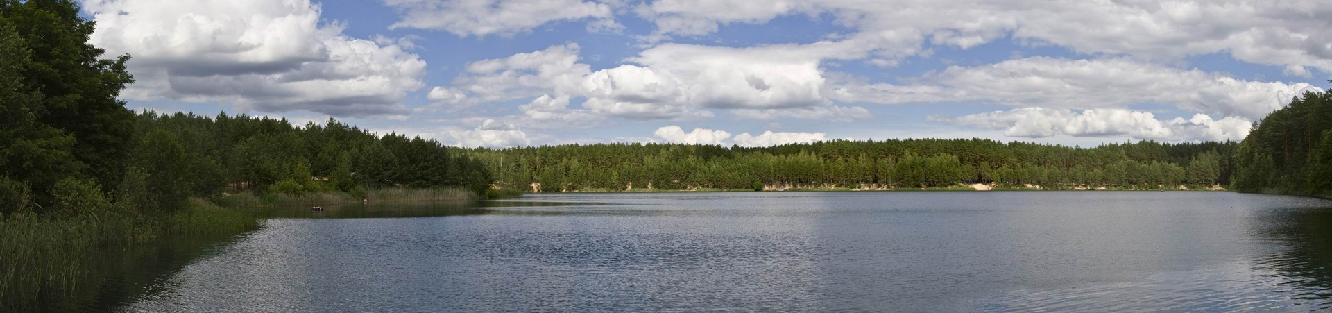Голубые озера — баннер