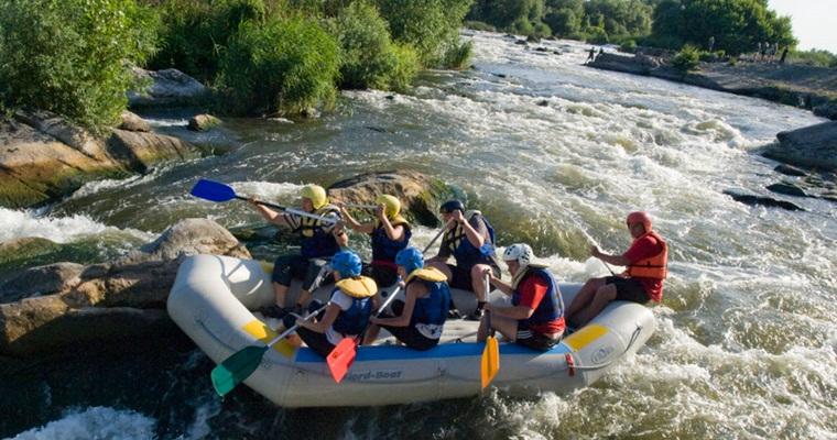 тур по Украине: Рафтинг на Мигийских порогах Южного Буга +скалолазание