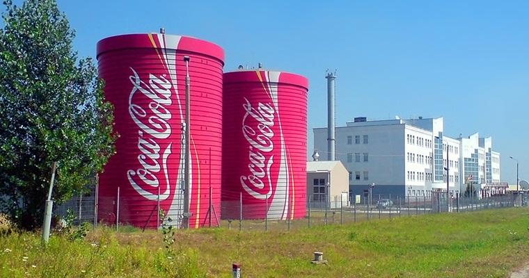 Экскурсия для школьников на завод Coca-Cola