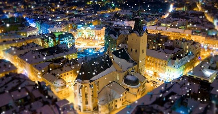 Тур по Украине: Магия рождественского Львова