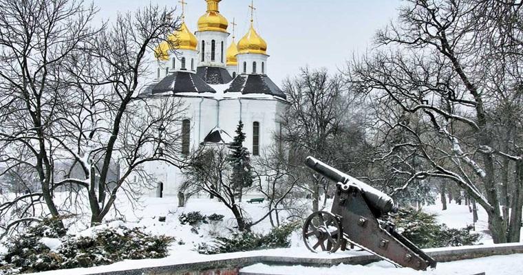 Тур по Украине: Новый год в Чернигове
