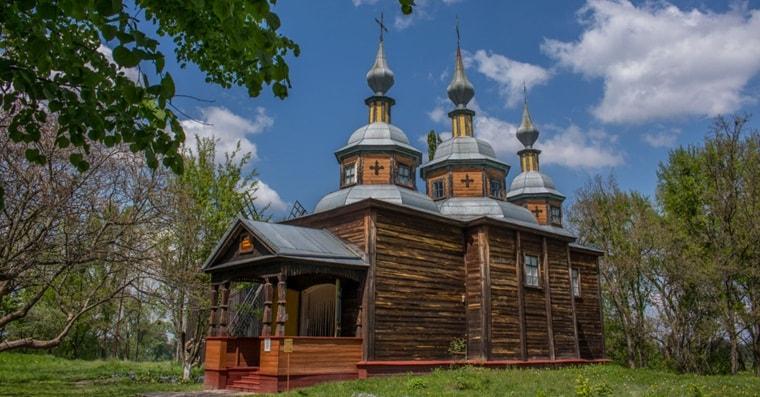Музей под открытым небом в Переяславе-Хмельницком