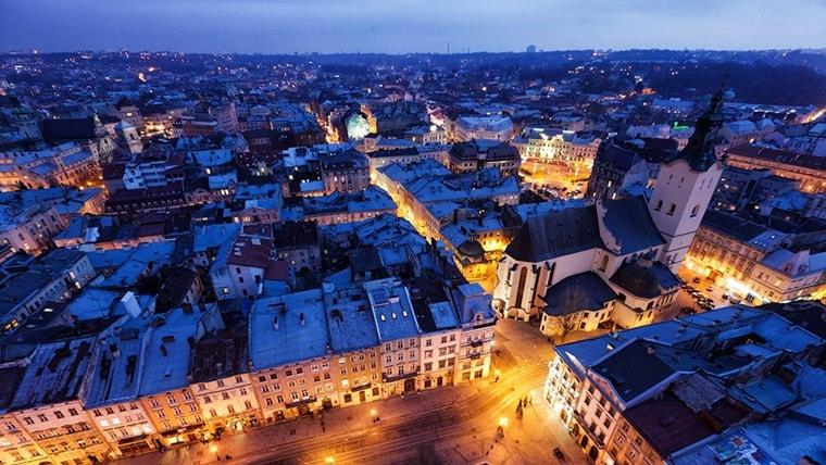 Тур по Украине: Рождество во Львове