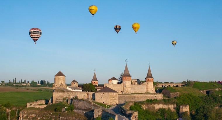 Фестивали воздушных шаров в Украине 2018: Каменец-Подольский