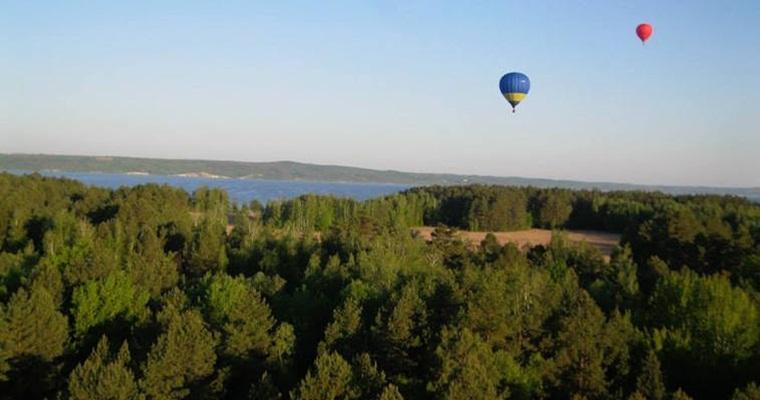 Полеты на воздушных шарах в Переяславе-Хмельницком