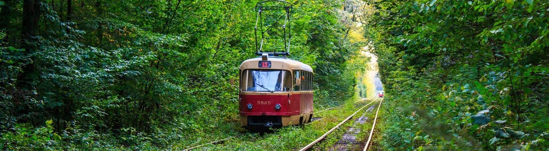Трамвай-баннер