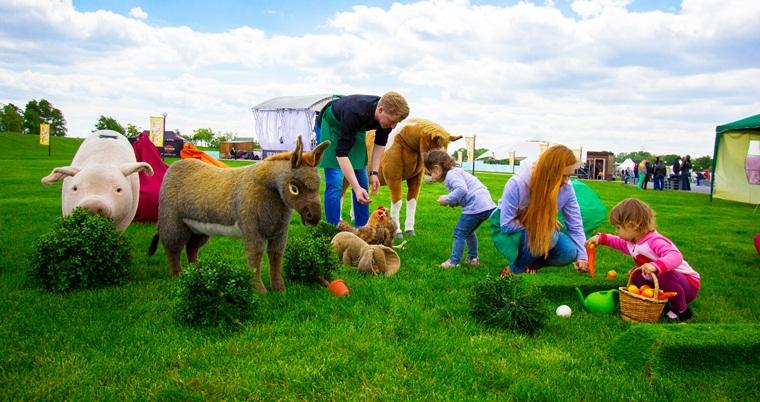 Детская зона от KidsWill на фестивале BELIVE