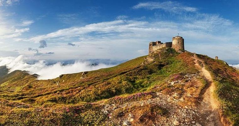 Тур по Украине: Поход по Черногорскому хребту