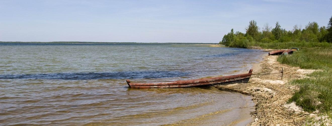 Шацкие озера и Луцк баннер