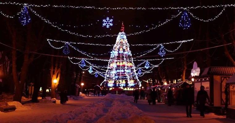 Тур по Украине: Новый год в Виннице