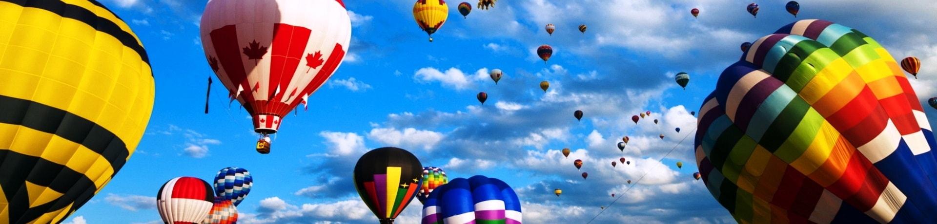Воздушные шары-слайдер