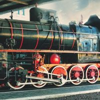 Мир локомотивов. Детская экскурсия с паровозиками