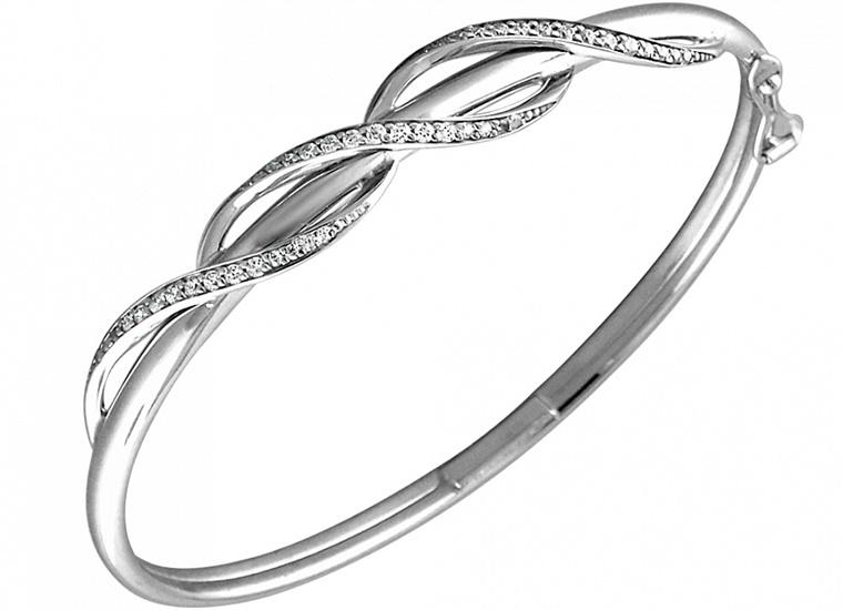 Как выбрать жесткий серебряный браслет