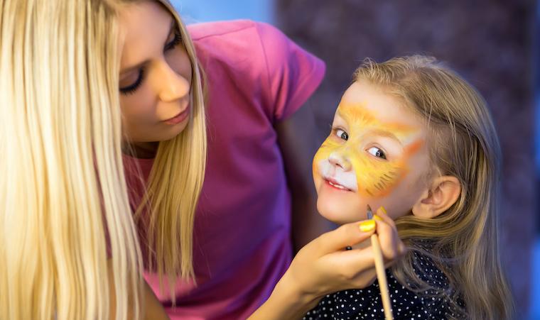 Аквагрим для детей в Киеве