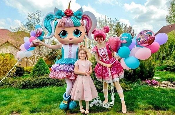 Ростові ляльки на дитяче свято фото