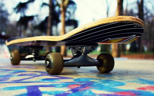 Катание на скейте фото